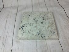 Granite natural stone trivet 6' square exposed unfinished edge hot plate candle