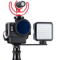 Ulanzi V2 Pro Vlog Case Housing Shell for GoPro Hero 7 Vlogging Cage Frame Black