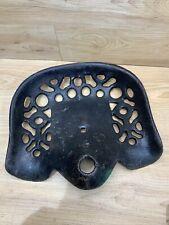Antique Cast Iron Tractorimplement Seat