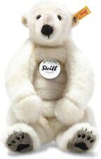 "Steiff Nanouk 12"" Polar Bear 062605 Super Cuddlesome & Soft With Stand"