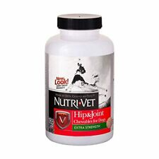 Nutri-Vet Advanced Strength Hip & Joint Chewable Dog Supplements | Formulated wi