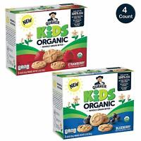 Quaker Kids Organic Whole Grain Bites, 2 Flavor Variety Pack, 20 Pouches
