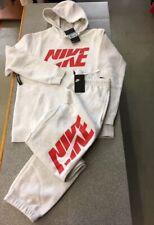 1cd5993ea6 Nike Tuta Uomo cappuccio cotone felpato Man Tracksuit Ar1341 Grigio Taglia M
