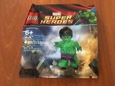 BRAND NEW SEALED! LEGO Marvel Super Heroes - Hulk Minifigure Polybag 5000022