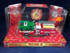 O-98 CODE 3 DIE CAST 1:64 SCALE FIRE ENGINE - 1998 CHRISTMAS EDITION #1