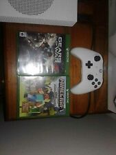 Selling my XBOX 1 S with 1 white controller and 3 games. Need to sell fast.
