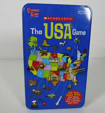 Scholastic The USA Game New In Tin Box