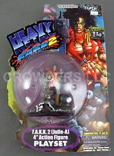 "Heavy Metal FAKK2 Julie A 4"" Action Figure Playset Kaiyodo Xebec Toys '99 NIP"