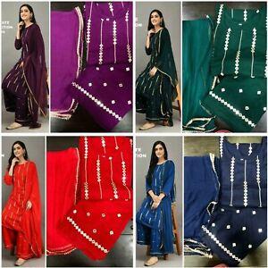 Designer Dresses Pakistani Suit Indian Kameez Salwar Kameez Plazo Kurti