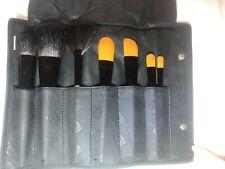 Paula Dorf 7 Brush Kit Foundation Cheek Powder Bronzing Fan Baby Primer Camo
