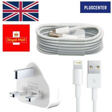 iPhone Charger Cable And Plug For Apple iPhone iPad iPod