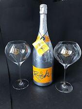 Veuve Clicquot Rich Champagner Magnum Flasche 1,5l 12% Vol + 2 Rich Glas Gläser