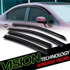 For 02+ Altima JDM Rain/Wind Guard Smoke Tint Vent Shade Deflector Window Visor