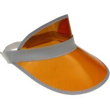 Visor retro cap solar gorra paraguas gorro transparente diafragma gorra Cappy-orange