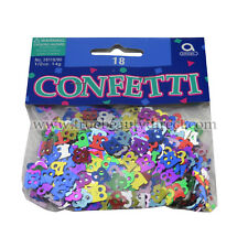 2 x 18TH BIRTHDAY AMSCAN CONFETTI 14g CELEBRATIONS OCCASIONS 18 PARTIES CRAFT