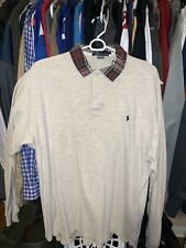 Polo Ralph Lauren Mens Vintage 1980S Rugby Shirt Mint Condition