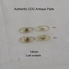 Authentic - COC (Continental) Clear Plastic 14mm Replacement nose pads