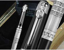 Jinhao rollerball rollerball pen bolígrafo bolígrafo plata wall + estuche
