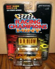 *1970 Plymouth Superbird Car & Stand 1:68 Hot Rods Issue #8 Racing Champions