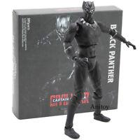 SHFiguarts Captain America Civil War Black Panther PVC Action Figure Model Toy