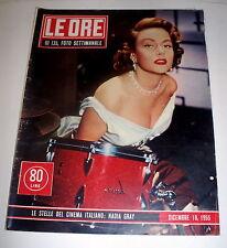 Le Ore foto settimanale Nadia Gray 1955