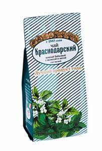 Herbal Infusion Green tea Melissa & Mint, loose leaf, Sochi, [KRASNODAR TEA]