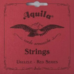 88U Aquila Tenor Ukulele String Set w/ Low G - Red Series