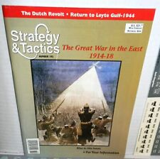 Strategy & Tactics Mag w/Game #192 Great War in the East 1914-18 Russia Aus/Ger