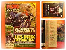 MOTO journal N° 1466 du 5/4/2001-Honda VTX la bombe-Révélation Scrambler: Voxan