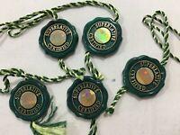 GENUINE Rolex Green Tag 5 set watch Chronometer Hologram 0810060
