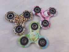 Fidget Spinner Triangle 3 Piece Set Designs  Hello Kitty, Leopard, Butterfly