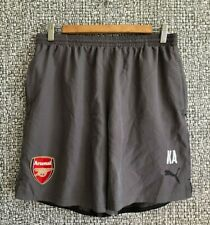Arsenal FC Gunners Football Soccer Player Issue Training Shorts Mens Size L
