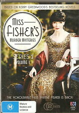 MISS FISHER'S MURDER MYSTERIES - Series 2, Volume 1. Essie Davis (2xDVD SET '13)