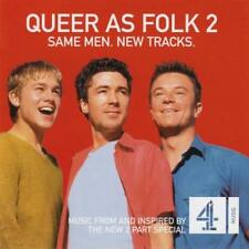 QUEER AS FOLK 2: Same Men, New Tracks [2-CD Soundtrack](2000) NM (Gay Interest)