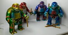 "Poplife KAIJU TMNT teenage mutant ninja turtles 4 pcs set 14"" donatello NICK"