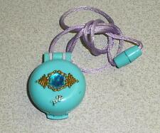Vintage Bluebird Toys Polly Pocket POLLY'S DRESS-UP JEWEL LOCKET Necklace 1992