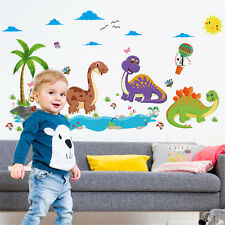 Animal Dinosaur Family Room Home Decor Removable Wall Stickers Decals Decoration