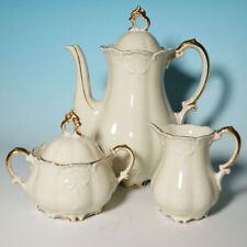 Kaffeekern Elfenbeinporzellan Bavaria Mitterteich 30ger Jahre Rokokostil
