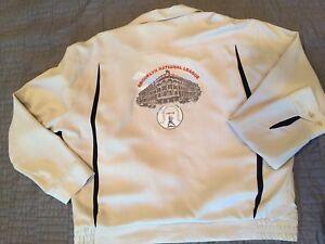 Nat Nast Silk Jacket Brooklyn Dodgers Baseball & Ebbet's Field Size Medium