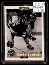 1992-93 Classic Promo Mario Lemieux #NNO