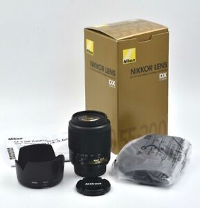 Nikon AF-S DX ZOOM NIKKOR 55-200mm f/4-5.6G ED **Open Box**NEVER USED**
