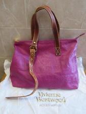 Vivienne Westwood NWT Fuschia Orb Fever Tote Handbag - Retails $850+ - Gorgeous