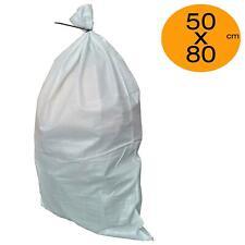 More details for rubble sacks 50cm x 80cm builders bag sack tough waste woven pp sandbags