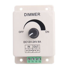 Brightness PWM Switch Controller Dimmer for Flexible LED Strip Light 12V 8A 96W