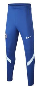 Chelsea FC Kid's Joggers Crest Fanatics Joggers - Blue - New