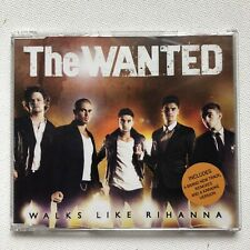 THE WANTED - WALK LIKE RIHANNA CD SINGLE