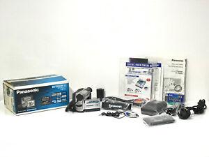 Boxed Set Panasonic NV-DS60 Mini DV Tape Digital Video Camera Handycam + Extras