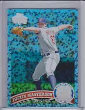 JUSTIN MASTERSON 2011 Topps Hope Diamond Anniversary #11/60 #544  (C8252)