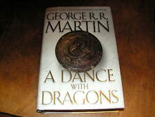 A DANCE WITH DRAGONS by GEORGE R R MARTIN HB/DJ 1st 2011 Song of Ice & Fire #5