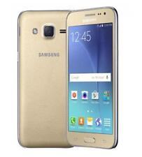 """Samsung India Warranty Samsung Galaxy J2 Duos Dual 8GB 1GB 4.7"""" 5MP 2MP Gold"""
